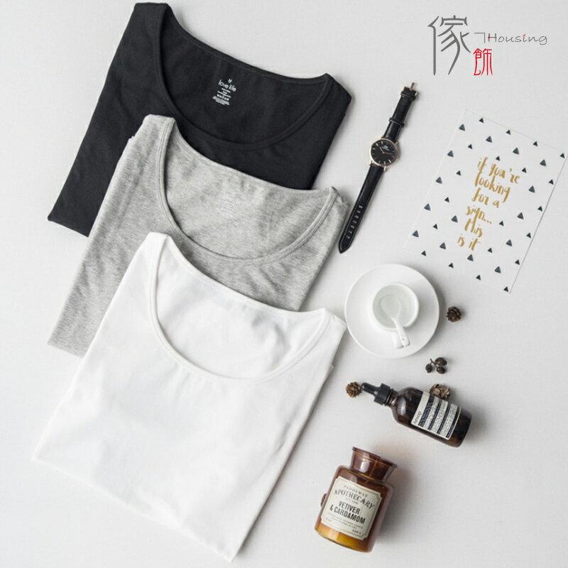 傢飾-housing 新款女式全棉圓領短袖T恤衫純棉寬鬆家居服 GT007