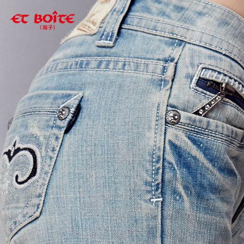 ET BOiTE 箱子  心型膝褲繡皮【0218-0222全店滿千折100,再加碼點數20倍送】 1