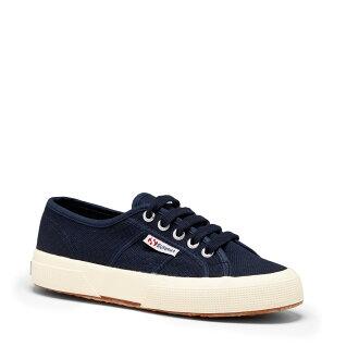 【SUPERGA】義大利國民鞋-深藍 Cotu - Classic2750【全店滿4500領券最高現折588】