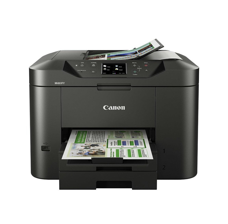 Canon MAXIFY MB5470 A4商用傳真多功能彩色噴墨複合機- 彩色傳真/彩色影印/彩色列印/彩色掃描