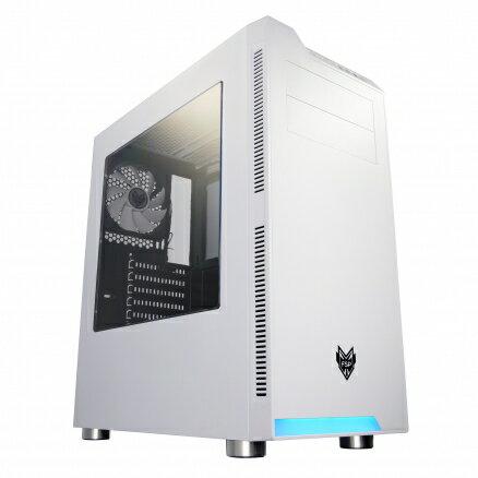 FSP全漢CMT240(W)炫鬥士(白)電腦機殼PC機殼電競機殼【迪特軍】