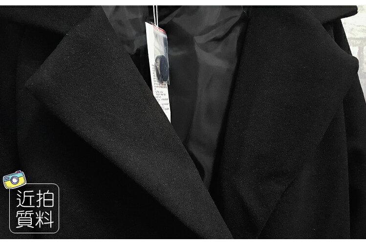 【雙12 SUPER SALE整點特賣12 / 3 21:00準時開搶】百搭保暖.修身顯瘦毛呢中長款大衣外套- shiny藍格子【V2699】 7