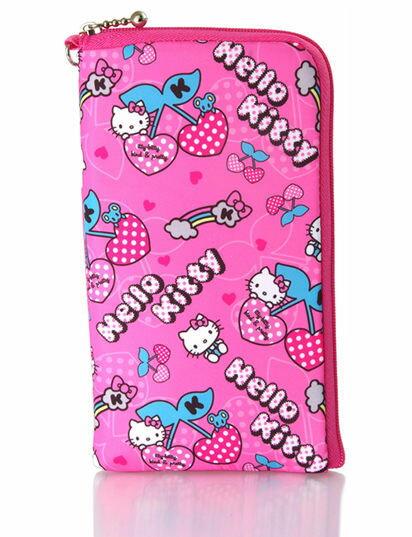 NOVA成功3C Hello Kitty SKS~311 仕女型多層式手機袋KT~櫻桃L