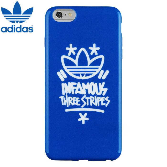 【adidas Originals】4.7吋 iPhone 6/6S iP6 iP6S 塗鴉 軟質全包保護殼/背蓋/手機套/保護套/手機殼/TIS購物館
