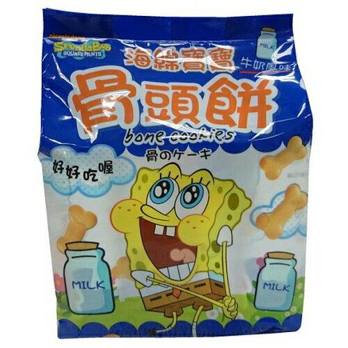 巧益海綿寶寶牛奶骨頭餅 160g【愛買】