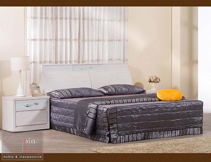 【尚品傢俱】711-19 塔莉莎 5尺雪山白床頭箱~另有6尺~另有胡桃色/床頭收納箱/床頭儲藏箱/床頭置物箱
