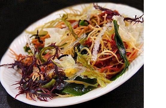 寒天海藻沙拉-九色海藻沙拉50g