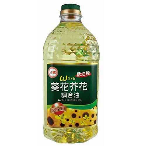 台糖3+6葵花芥花調合油2L【愛買】