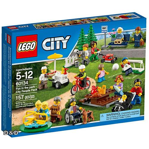 樂高積木LEGO~ LT60134 ~City 城市系列 ~ 歡樂遊園 ~ 城市系列人偶套