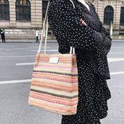 夏天小包包女新款潮韓版百搭單肩手提森女文藝仙女包包水桶包  卡布奇諾SUPER SALE樂天雙12購物節