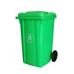 金保戶外垃圾桶大號環衛室外小區有蓋240l掛車大塑料帶蓋大碼箱 卡布奇諾HMSUPER 全館特惠9折