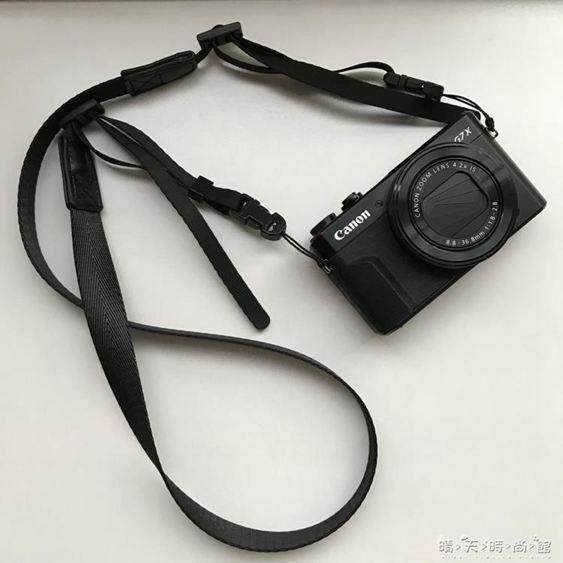 Sozor相機肩帶微單M50M100理光GR2掛繩索尼RX100M6M5窄款柔軟背帶 晴天 館