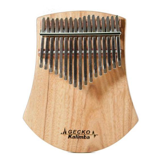 拇指琴 拇指琴板式卡林巴琴壁虎GECKO手指琴17音小眾樂器初學入門 【晶彩生活】