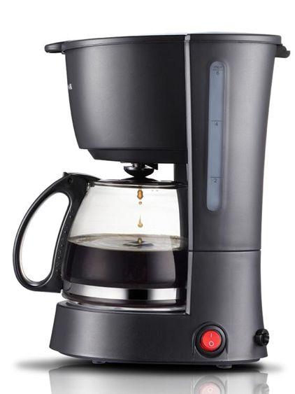 咖啡機 煮咖啡機家用迷你美式滴漏式全自動小型咖啡壺 莎瓦迪卡SUPER 全館特惠9折