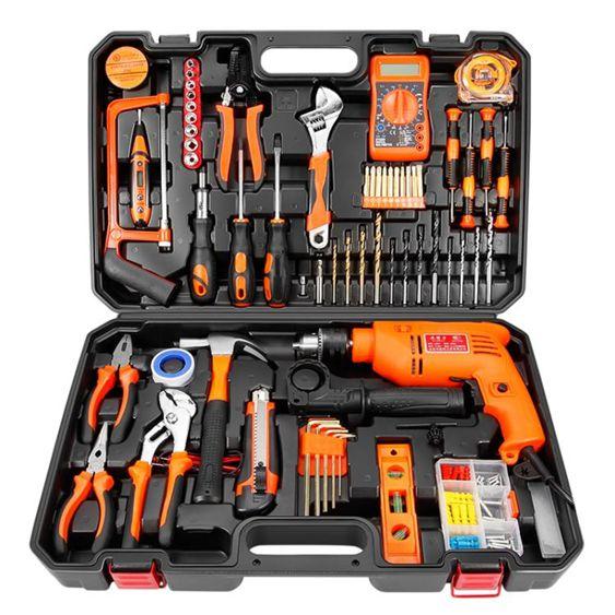 家用電鉆 具套裝 工具箱電工木工多 YYP 瑪奇哈朵