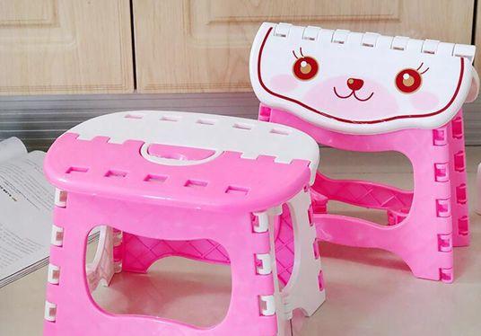 塑料可折疊凳子 浴室小板凳兒童成人戶外釣魚便攜式加厚折疊凳子YYP   瑪奇哈朵
