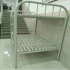鐵架床加厚雙層床學校宿舍鐵床上下床成人床工人高架床上下鋪鐵床SUPER 全館特惠9折