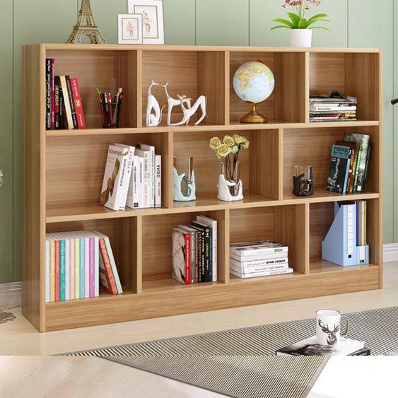 簡約現代創意書架書櫃自由組合學生簡易書櫥客廳置物落地兒童櫃子  YDLSUPER 全館特惠9折