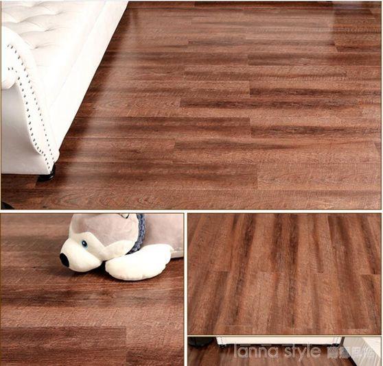 地板革自黏PVC地板貼紙地板膠防水耐磨塑膠加厚臥室家用辦公商用 LannaS YTLSUPER 全館特惠9折