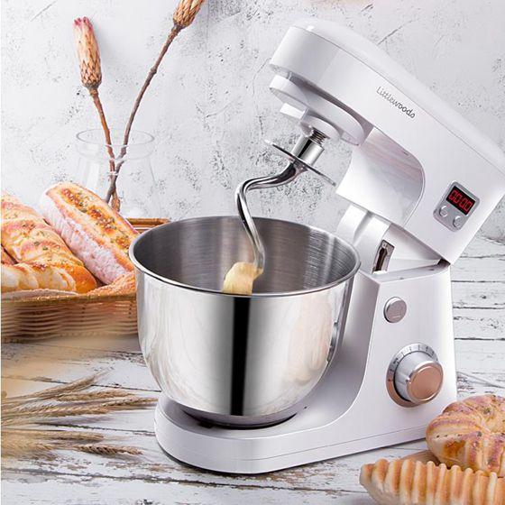 和面機 和面機家用全自動揉面小型廚師機面粉攪拌器合面活面打面機鮮奶機 JD免運