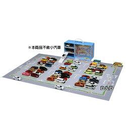 《 TAKARA TOMY 》交通世界 新城鎮 購物中心停車場提盒
