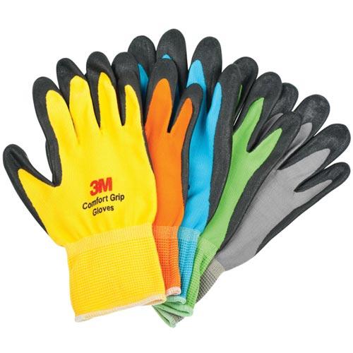 3M 亮彩舒適型 止滑 耐磨手套 綠色 XXL