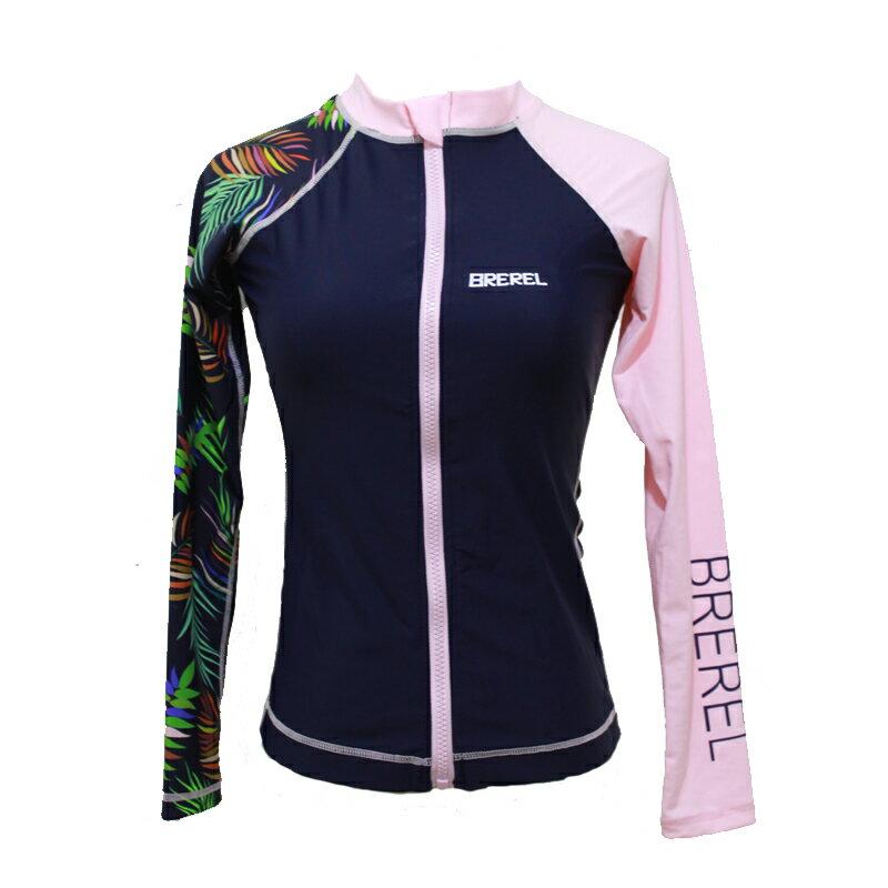 新款防曬水母衣女潛水服分體長袖泳衣沖浪游泳浮潛服套裝