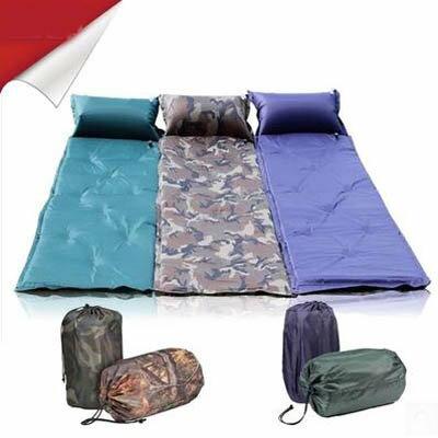 【單人加厚自動充氣墊-常規款-58*185cm-1套/組】露營睡墊可拼接午睡墊-7670609-1