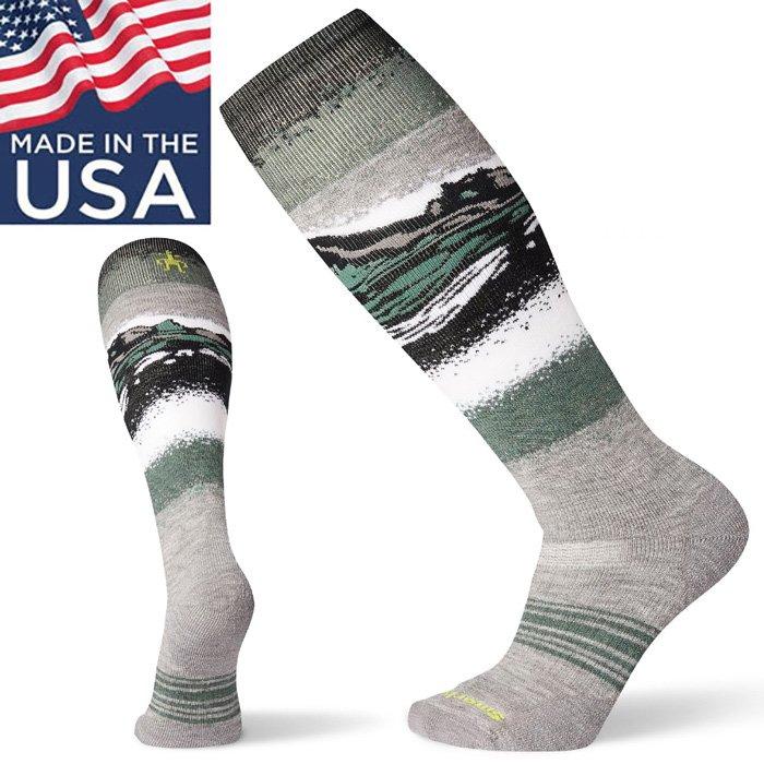 【Smartwool 美國】PhD Snowboard 滑雪聯名高筒襪 羊毛滑雪襪 美麗諾羊毛襪 雪襪 淺灰色 (SW001171039)
