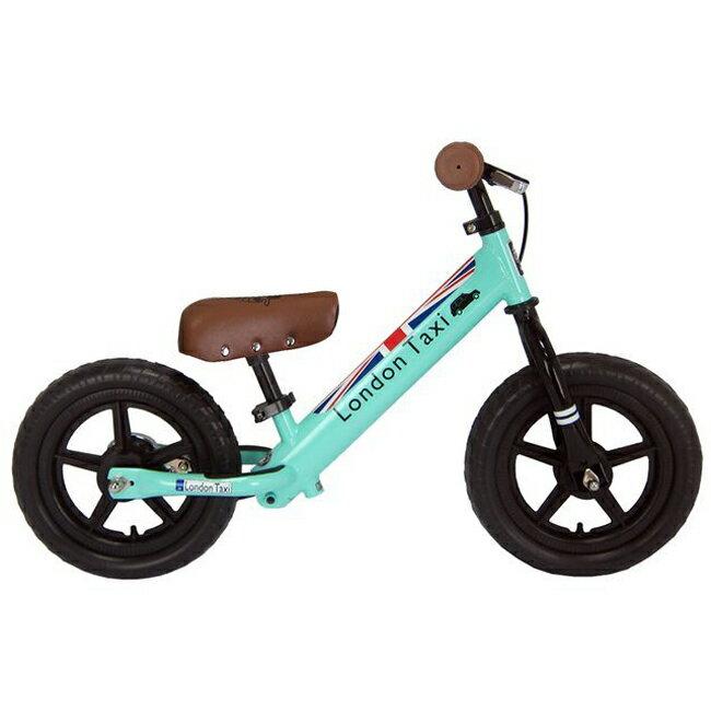 英國 LONDON TAXI 幼兒滑步平衡車/學步車/滑步車 馬卡龍綠