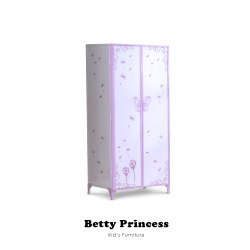 【Kids Neverland】貝蒂公主雙人衣櫃