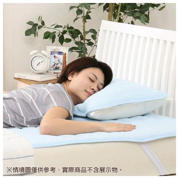 枕頭保潔墊 DRYKNIT Q 19 BL NITORI宜得利家居 1