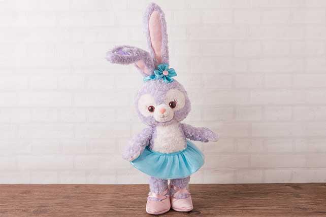 現貨 席捲迪士尼 日本東京海洋迪士尼 達菲新朋友-Stella lou 史黛拉兔 芭蕾兔 玩偶 43cm