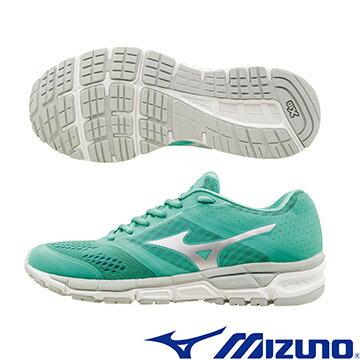J1GF161903 (粉綠X銀白) MIZUNO SYNCHRO MX (W) 休閒款女慢跑鞋 A【美津濃MIZUNO】