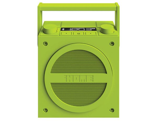 <br/><br/>  [NOVA成功3C] iHome iBT4 藍牙無線可充電內置揚聲器 復古 FM收音機 內建充電電池(螢光綠)喔!看呢來<br/><br/>