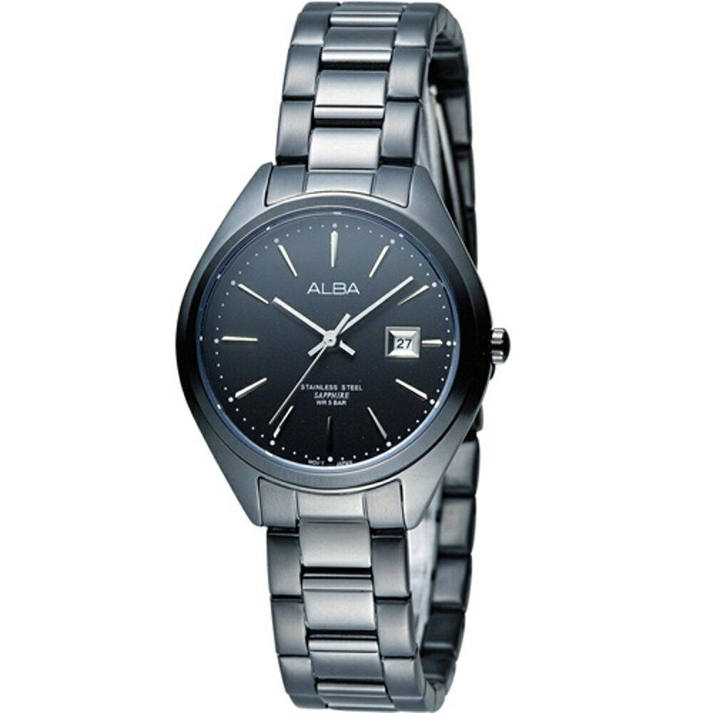 寶時鐘錶 ALBA 雅柏 簡約時尚生活女錶 VJ22-X234SD  AH7L25X1