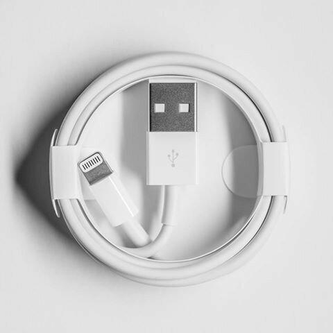 【iPhone 7】盒裝 原廠線 送副廠線+2個i線套。蘋果 配件 傳輸線 充電線 線 Apple 原廠 傳輸 線