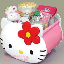 〔小禮堂〕Hello Kitty 臉形收納箱《小.白臉》人氣熱賣商品