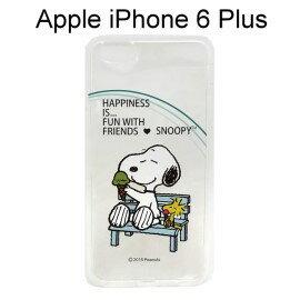 SNOOPY 史努比透明軟殼 [冰淇淋] iPhone 6 Plus / 6S Plus (5.5吋)【台灣正版授權】