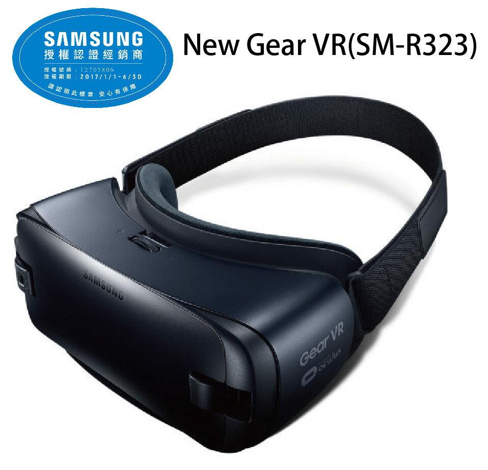 三星 SAMSUNG New Gear VR (SM-R323) 藍黑