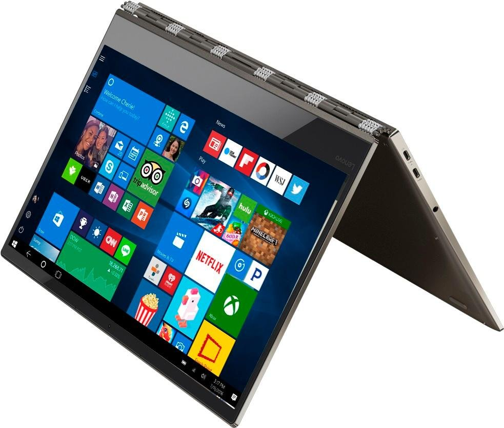 "Lenovo Yoga 920 13.9"" Convertible Laptop ( i7-8550U / 8GB / 2TB SSD)"