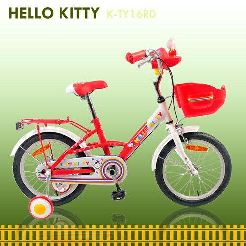 【7號公園自行車】JOKER 傑克牌 K-TY16RD Hello Kitty 16吋 彩繪音樂童車
