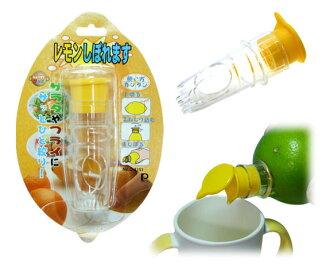 【淘氣寶寶】日本原裝進口 Akachan 阿卡將 日本製 柳橙擠壓榨汁器 果汁 副食品