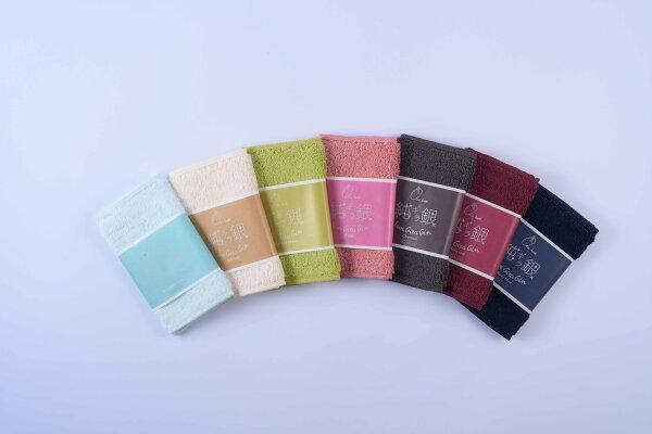 日本製今治超輕量閃亮抗菌防臭手帕毛巾-妙屋房