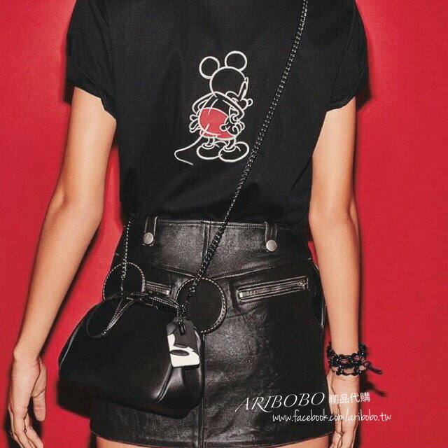 艾莉波波 【DISNEY X COACH】MICKEY KISSLOCK 棒球手套鞣製皮革手袋 3色 少量現貨 精品 代購 5