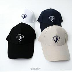 老帽 圖騰LOGO英文刺繡棒球帽【NHA9】柒彩年代