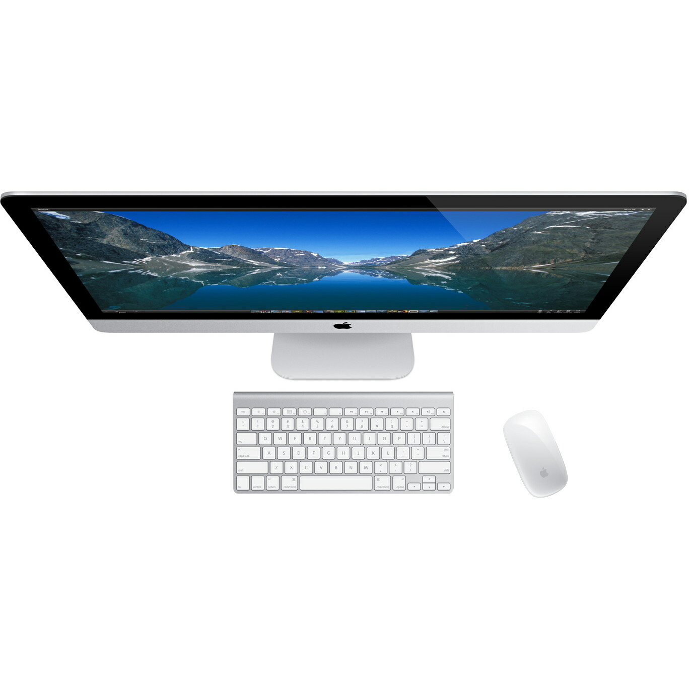 "Apple iMac ME088LL/A All-in-One Computer - Intel Core i5 3.20 GHz - 8 GB DDR3 SDRAM - 1 TB HDD - 27"" 2560 x 1440 - Mac OS X 10.8 Mountain Lion - Desktop - NVIDIA GeForce GT 755M 1 GB Graphics - Wireless LAN - Bluetooth - 4 x Total USB Port(s) 5"