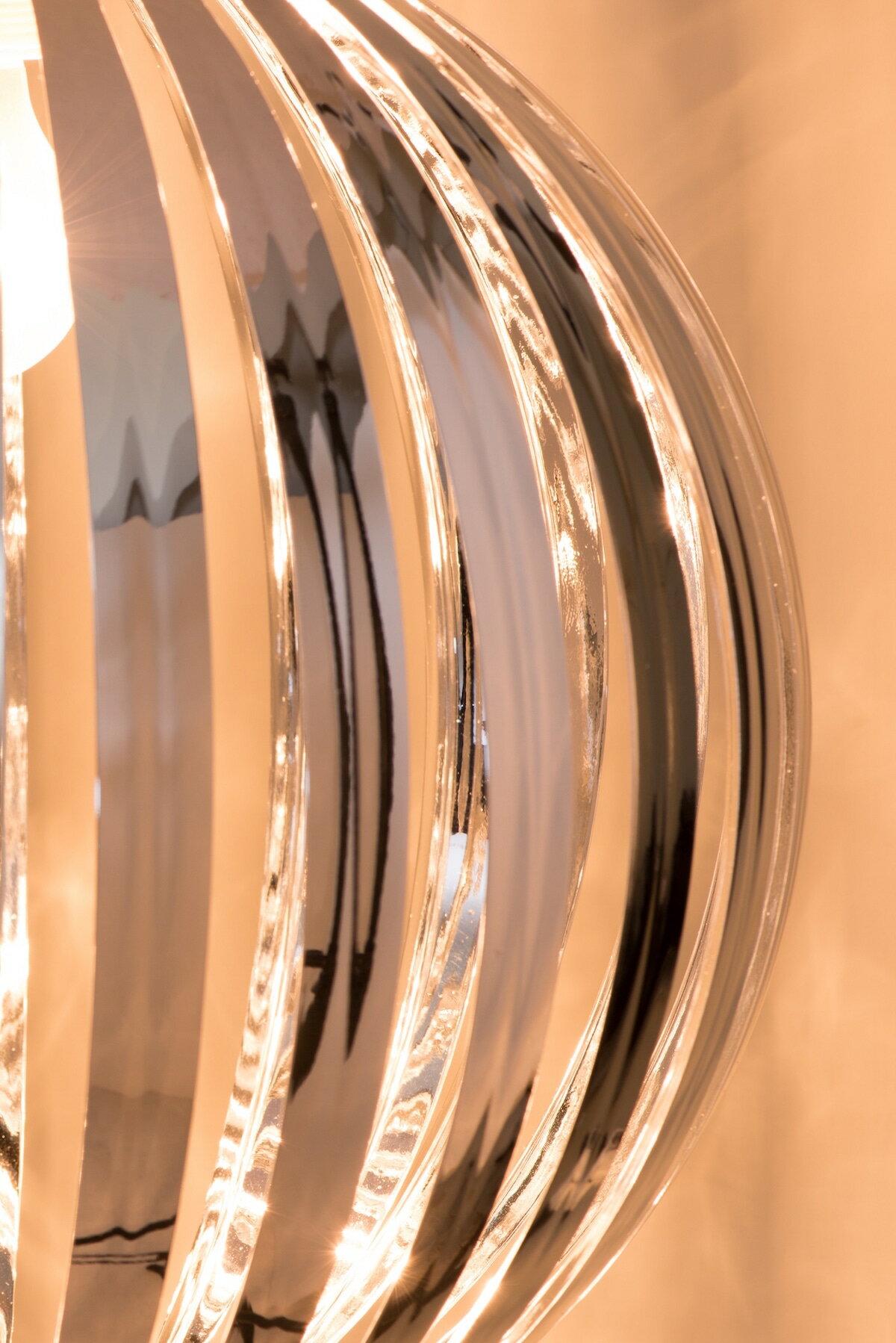 鍍鉻條圓形吊燈-BNL00054 5