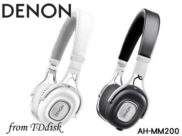 志達電子AH-MM200DENON可換線折疊耳罩式耳機[公司貨]ForAppleAndroid