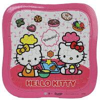 凱蒂貓週邊商品推薦到Hello Kitty凱蒂貓拼圖 42片拼圖 餅乾小甜心/一個入{促80} 世一C678004 KT幼兒卡通拼圖MIT製